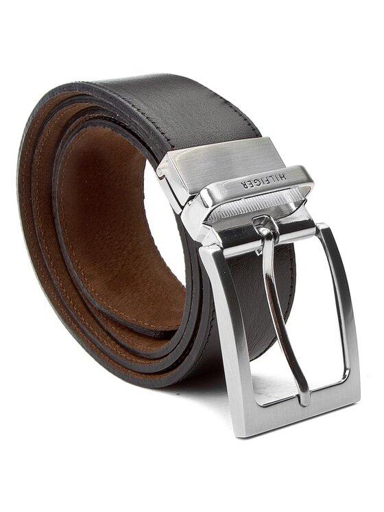 Tommy Hilfiger Tommy Hilfiger Мъжки колан Ray Belt 3.5 Rev AM0AM02220 90 Кафяв