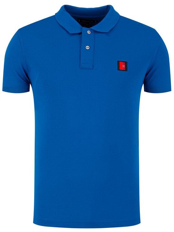 Tommy Hilfiger Tommy Hilfiger Polo Icon Mini Badage MW0MW13077 Blu Regular Fit