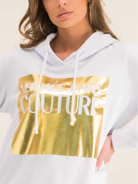 Versace Jeans Couture Versace Jeans Couture Pulóver B6HVA71T Fehér Regular Fit