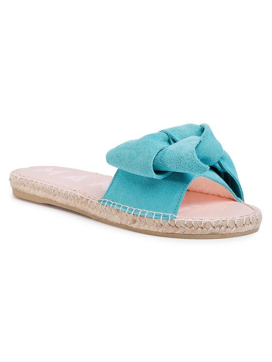 Manebi Manebi Espadryle Sandals With Bow M 3.6 J0 Niebieski