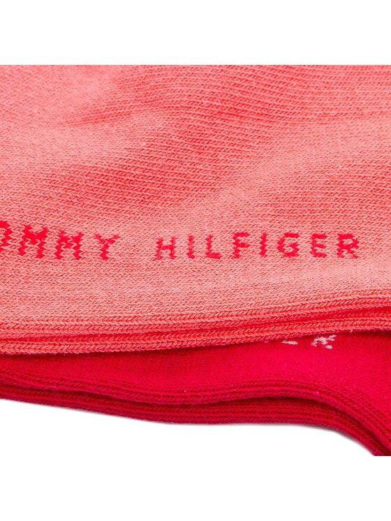 Tommy Hilfiger Tommy Hilfiger Set di 2 paia di pedulini da donna 343024001 Rosa