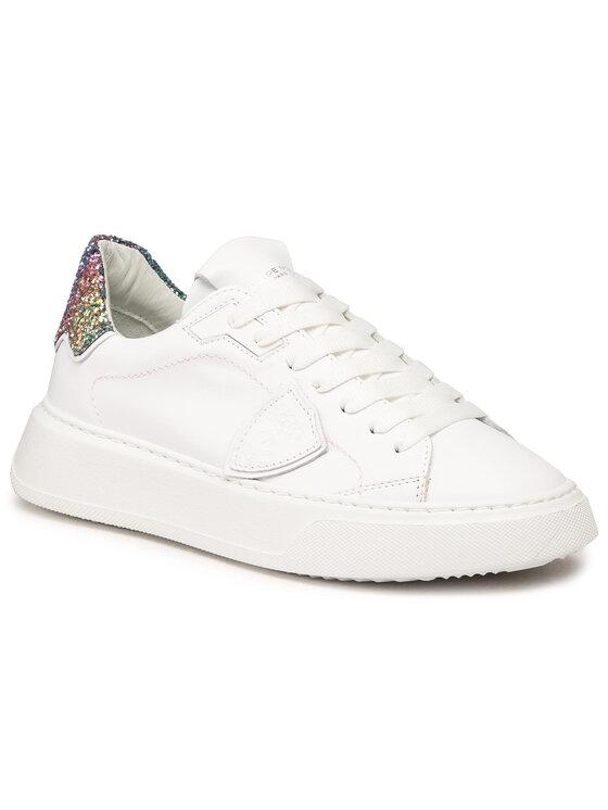 Philippe Model Laisvalaikio batai Temple Low W BTLD VG01 Balta