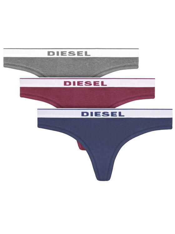 Diesel Diesel Komplet 3 par stringów Ufst-Stars-Threepack 00SE0K 0EAUF Kolorowy