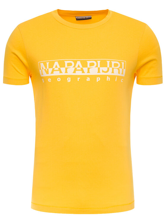 Napapijri Napapijri Tričko Sevora N0YIJ9 Žltá Regular Fit