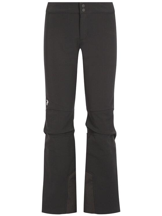 Peak Performance Peak Performance Lyžařské kalhoty Str G50169016 Černá Slim Fit