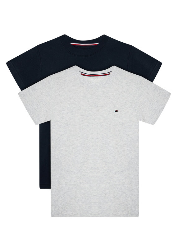 Tommy Hilfiger 2 marškinėlių komplektas UB0UB00310 Tamsiai mėlyna Regular Fit
