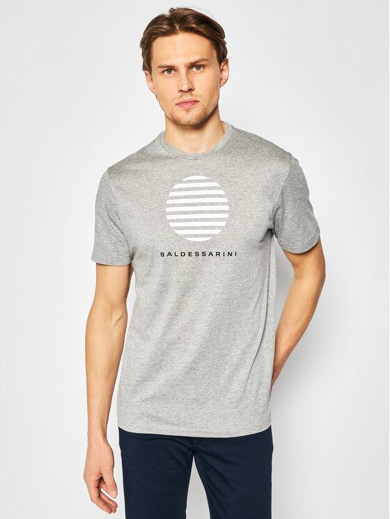 Baldessarini Marškinėliai Tino 47401/000/5357 Pilka Modern Fit