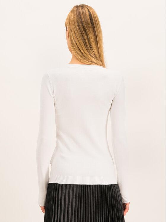 Guess Guess Sweter W94R70 Z2760 Biały Regular Fit