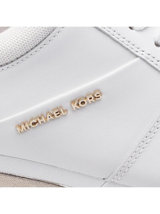 MICHAEL Michael Kors MICHAEL Michael Kors Сникърси Allie Wrap Trainer 43T9ALFS9L Бял