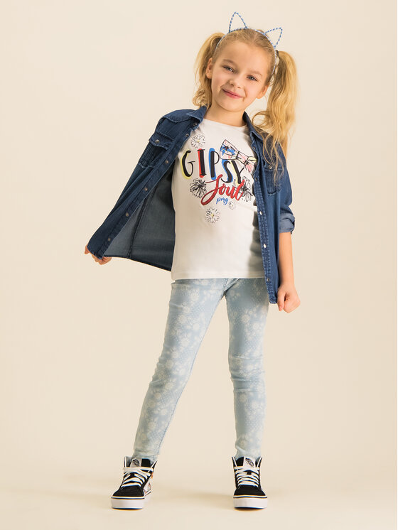 Primigi Primigi T-shirt 43222551 Blanc Regular Fit