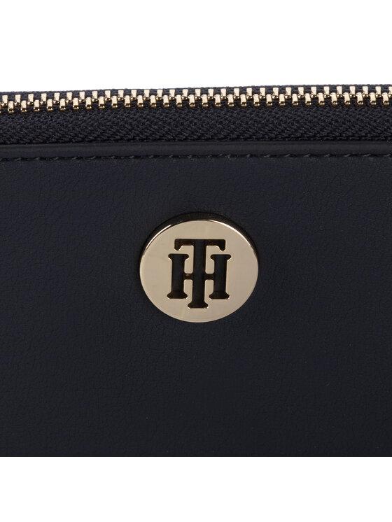 Tommy Hilfiger Tommy Hilfiger Nagy női pénztárca Modern Hardware Lrg Za AW0AW07063 Sötétkék