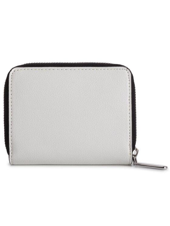Calvin Klein Calvin Klein Mały Portfel Damski Avant Medium Zip Wflap K60K605097 Biały