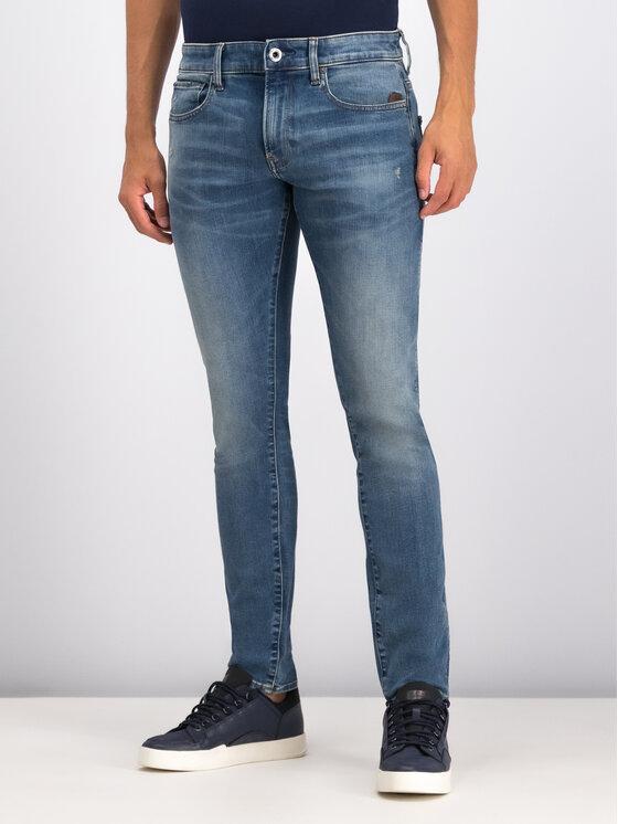 G-Star Raw G-Star Raw Jeans Revend 51010-B605-A802 Blu scuro Skinny Fit