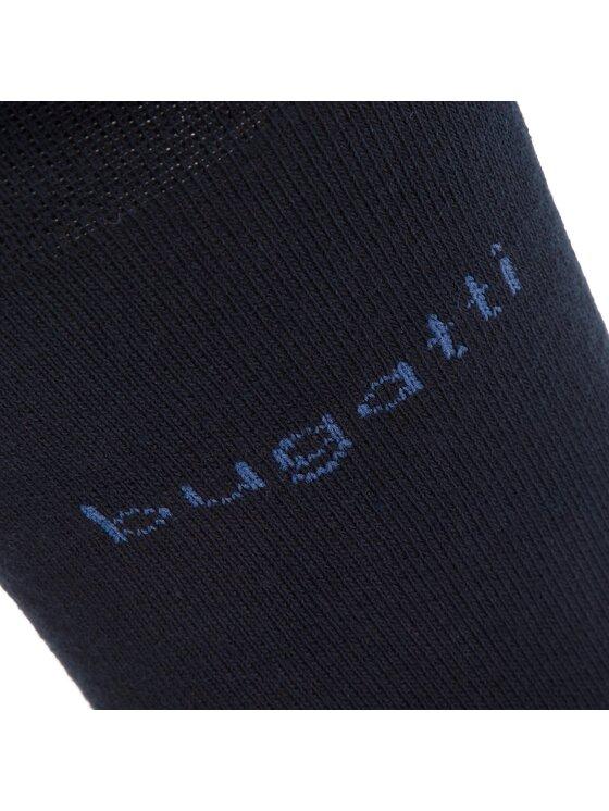 Bugatti Bugatti Set 6 Paar hohe Herrensocken 6285X Dunkelblau