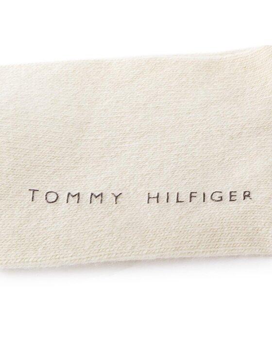 TOMMY HILFIGER TOMMY HILFIGER Moteriškos kojinės virš kelių 433018001 35/38 Smėlio