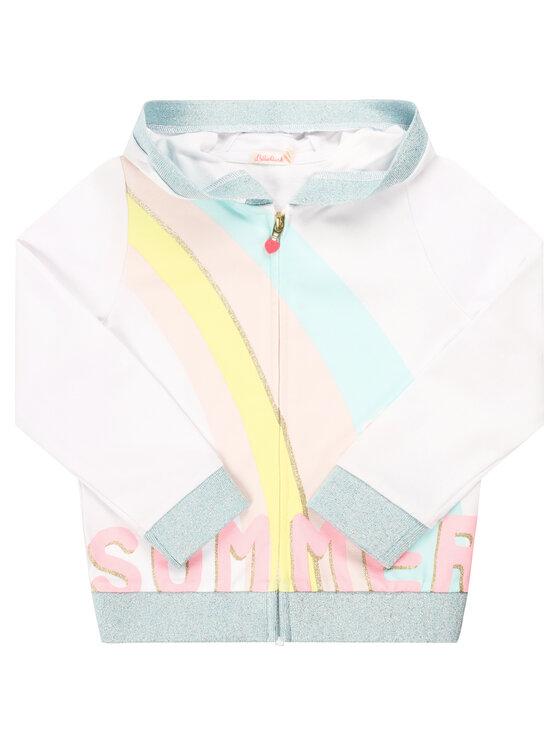 Billieblush Billieblush Bluza U15716 Biały Regular Fit
