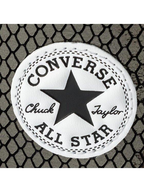 Converse Converse Plátěnky Ctas Hi 555966C Černá