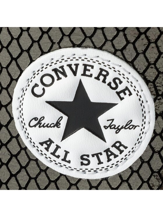 Converse Converse Trampki Ctas Hi 555966C Czarny