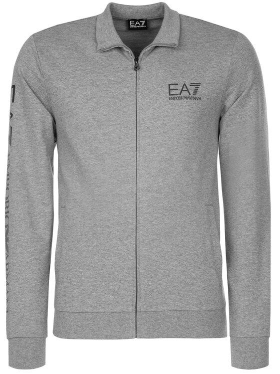 EA7 Emporio Armani EA7 Emporio Armani Bluza 3GPM23 PJ05Z 3905 Szary Regular Fit