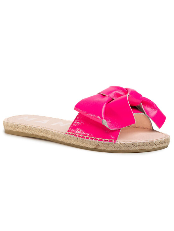 Manebi Espadryle Sandals With Bow F 9.1 J0 Różowy