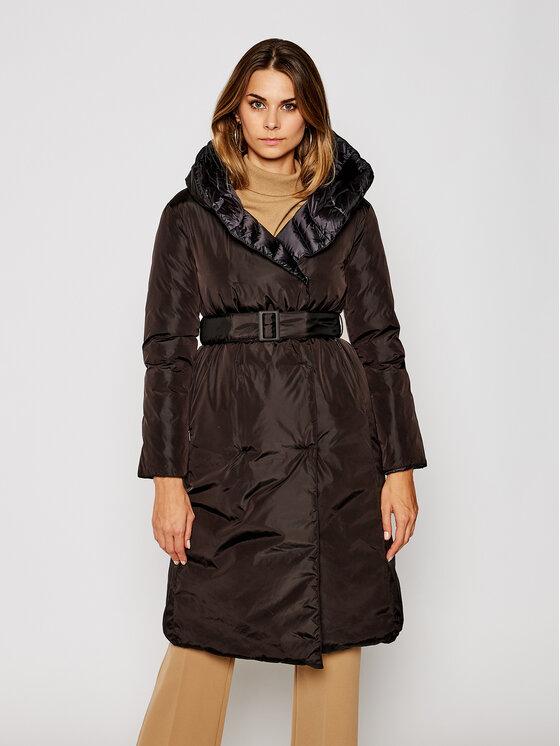 Hetregó Žieminis paltas Jennifer 8I643 20WD11 Juoda Regular Fit