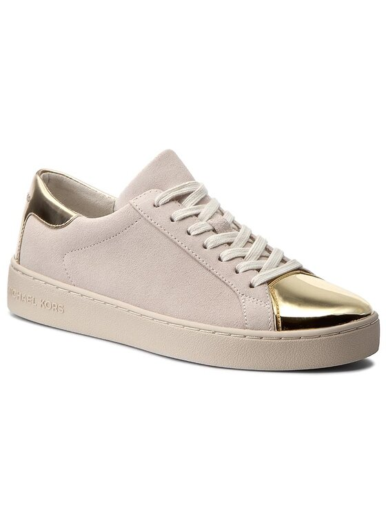 MICHAEL Michael Kors MICHAEL Michael Kors Laisvalaikio batai Frankie Sneaker 43T7FRFS1S Smėlio