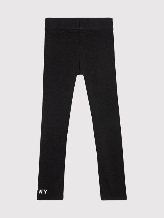 DKNY DKNY Leggings D34A27 D Crna Slim Fit