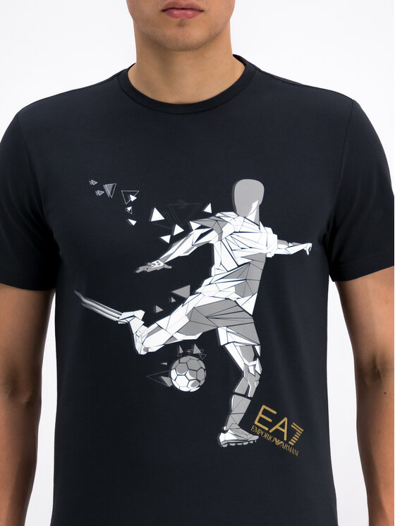 EA7 Emporio Armani EA7 Emporio Armani T-shirt 3GPT14 PJP6Z 1578 Bleu marine Regular Fit