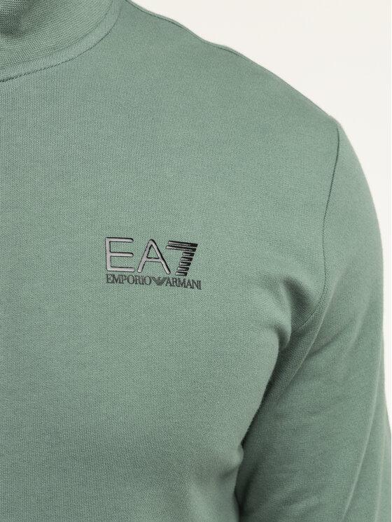 EA7 Emporio Armani EA7 Emporio Armani Pulóver 8NPM01 PJ05Z 1858 Zöld Regular Fit