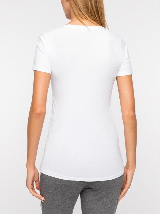Liu Jo Sport Liu Jo Sport T-shirt T69031 J0088 Bianco Regular Fit