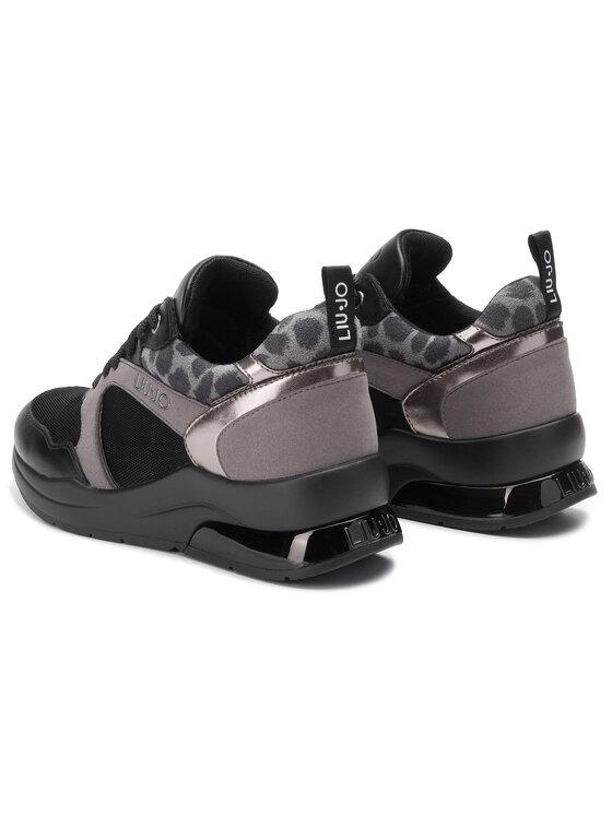 Liu Jo Liu Jo Sneakersy Karlie 23 B69031 TX058 Černá