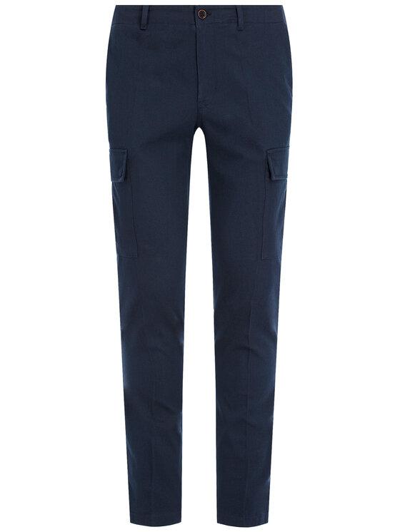 Tommy Hilfiger Tommy Hilfiger Παντελόνι υφασμάτινο Bleecker Cargo MW0MW12593 Σκούρο μπλε Slim Fit
