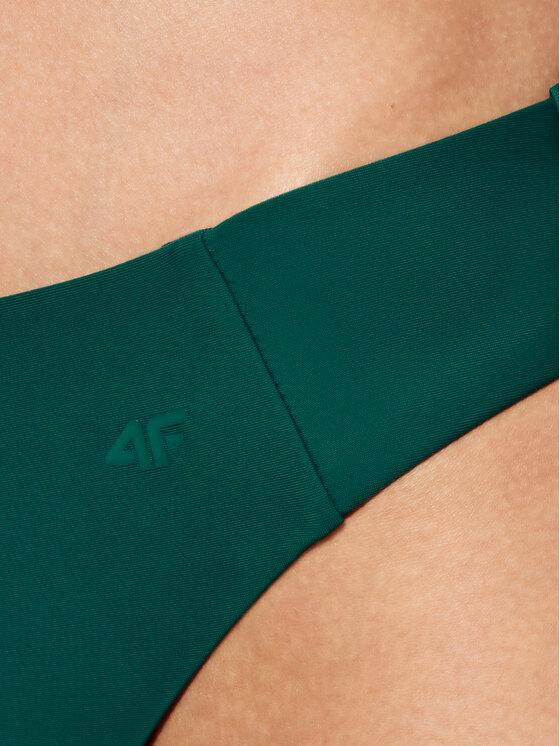 4F 4F Dół od bikini H4L21-KOS003D Zielony