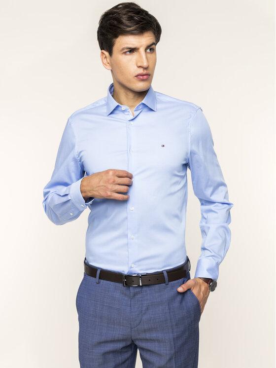 Tommy Hilfiger Tailored Tommy Hilfiger Tailored Camicia Twill Classic TT0TT06130 Blu Slim Fit