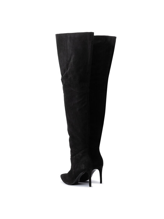 Eva Minge Eva Minge Μπότες πάνω από το γόνατο EM-21-06-000199 Μαύρο