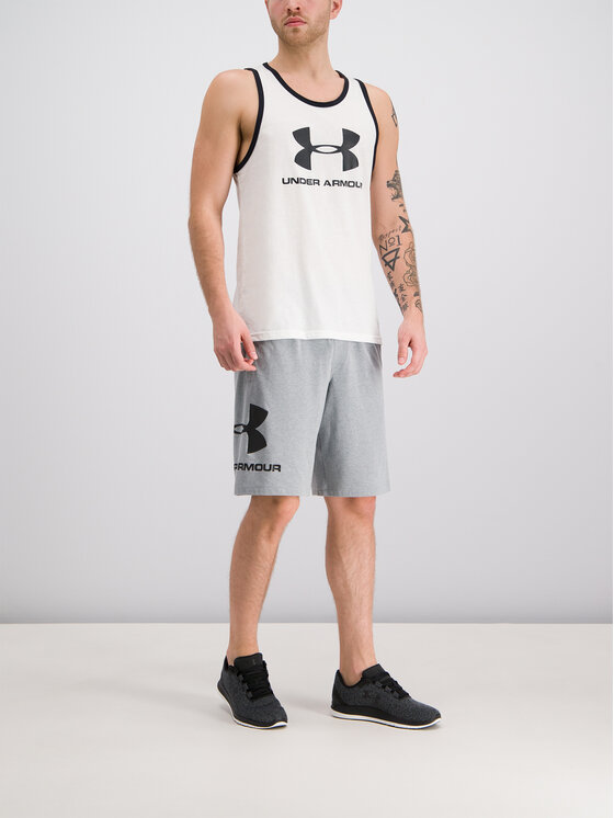 Under Armour Under Armour Топ 1329589 Бял Regular Fit