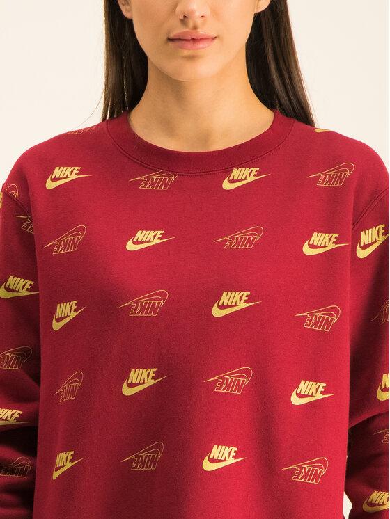Nike Nike Felpa Sportswear BV4994 Bordeaux Loose Fit
