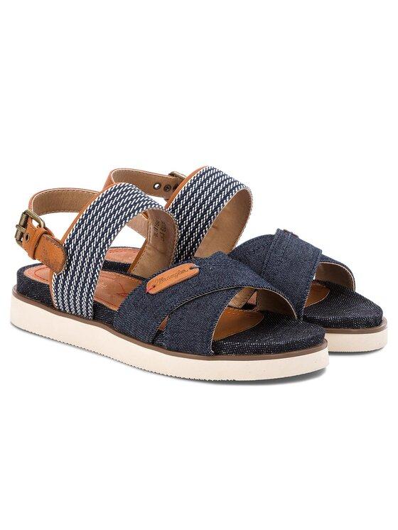 Wrangler Wrangler Sandále Sunset Karen WL181647 Tmavomodrá