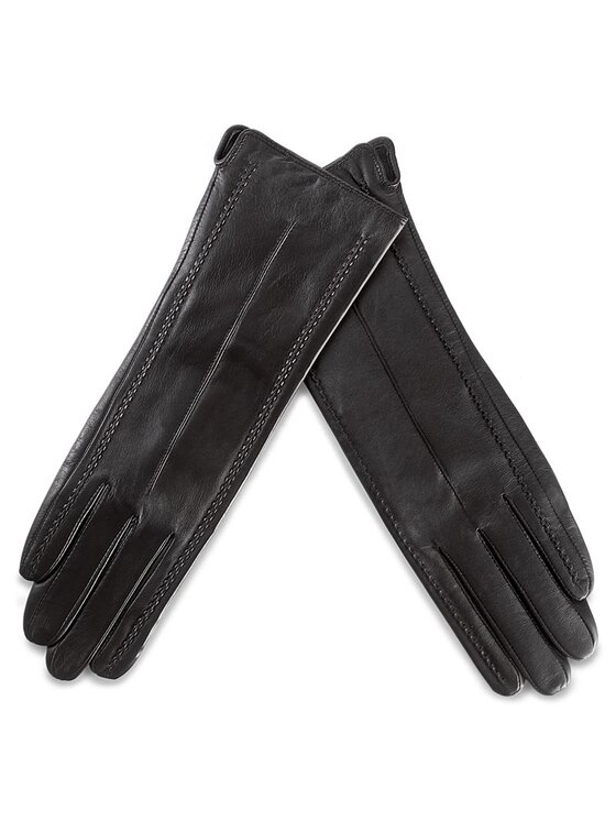 Wittchen Wittchen Dámske rukavice 39-6-511-1 S Čierna