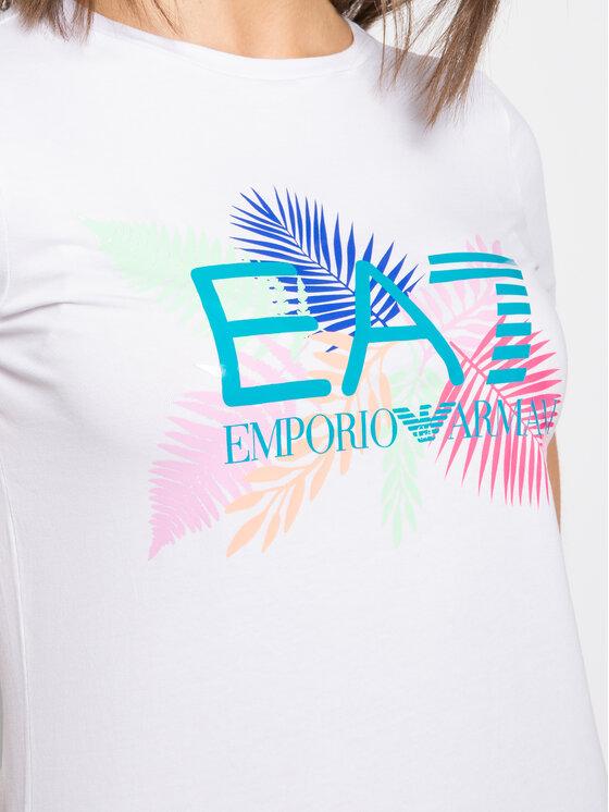EA7 Emporio Armani EA7 Emporio Armani T-shirt 3HTT18 TJ12Z 1100 Bianco Regular Fit