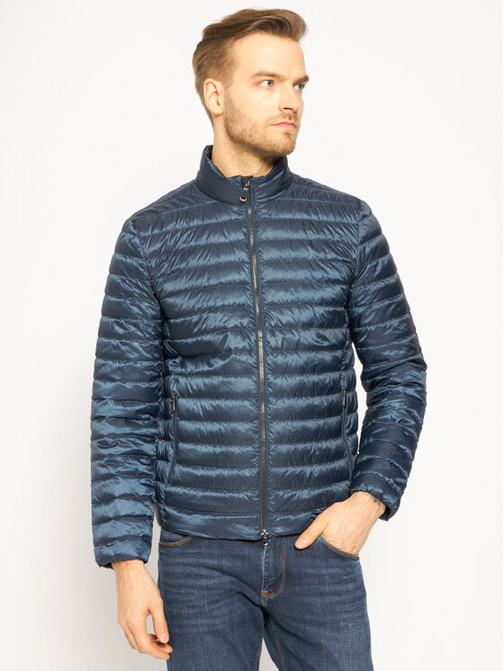 Geox Geox Daunenjacke Warrens M0225D T2636 F4496 Dunkelblau Regular Fit