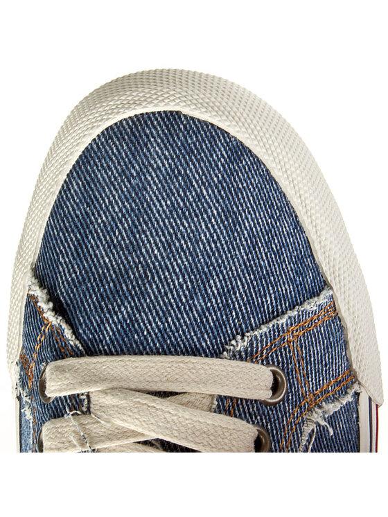 Tommy Hilfiger Tommy Hilfiger Πάνινα παπούτσια DENIM Samson 13D - 2 EM56818605 Μπλε