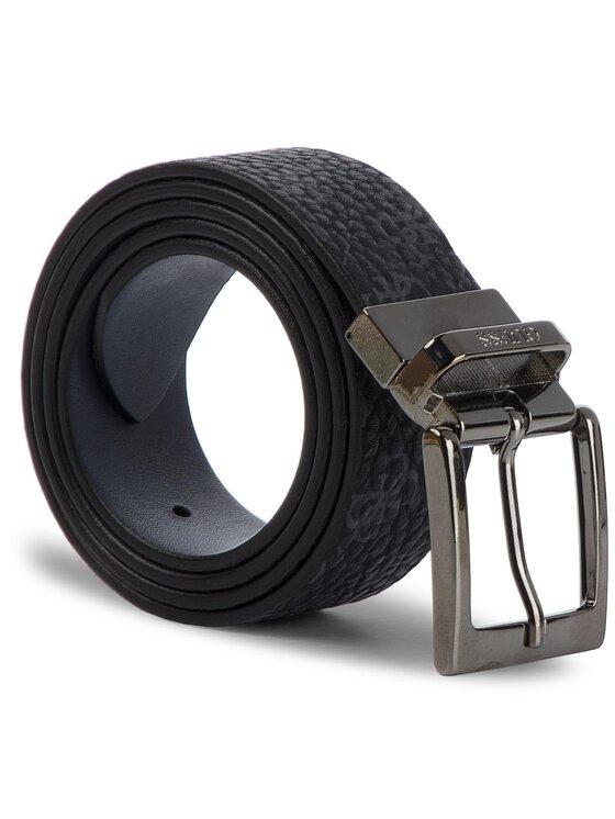 Guess Guess Curea pentru Bărbați City Logo Belts BM7173 LEA35 Negru