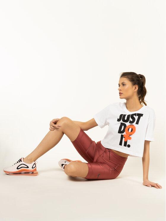 Nike Nike Тишърт Cropped BV7170 Бял Standard Fit