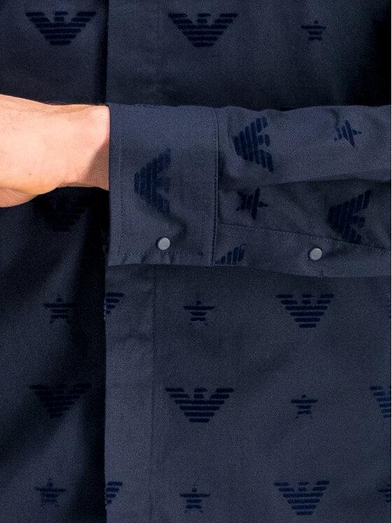 Emporio Armani Emporio Armani Camicia 6G1CB2 1NUXZ 0939 Blu scuro Slim Fit