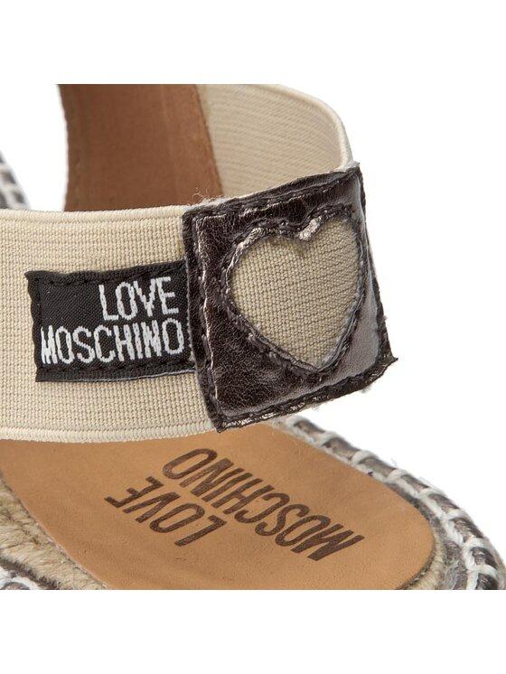LOVE MOSCHINO LOVE MOSCHINO Espadrile JA16523G03JF0903 Auriu