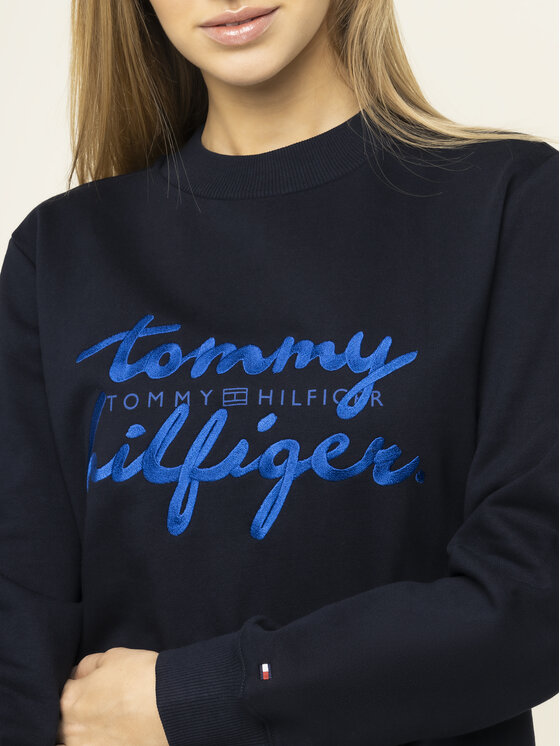 Tommy Hilfiger Tommy Hilfiger Džemperis Romy WW0WW26669 Tamsiai mėlyna Regular Fit