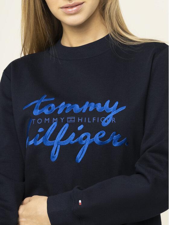 TOMMY HILFIGER TOMMY HILFIGER Pulóver Romy WW0WW26669 Sötétkék Regular Fit