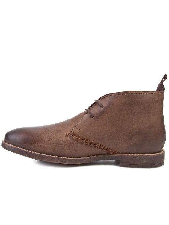 Clarks Clarks Boots Novato Mid 261025047 Marron