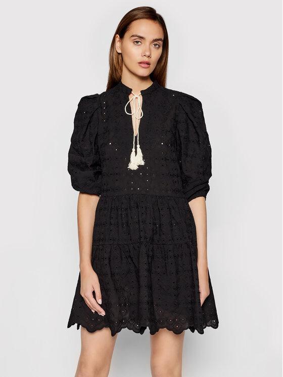 Rinascimento Kasdieninė suknelė CFC0103616003 Juoda Regular Fit